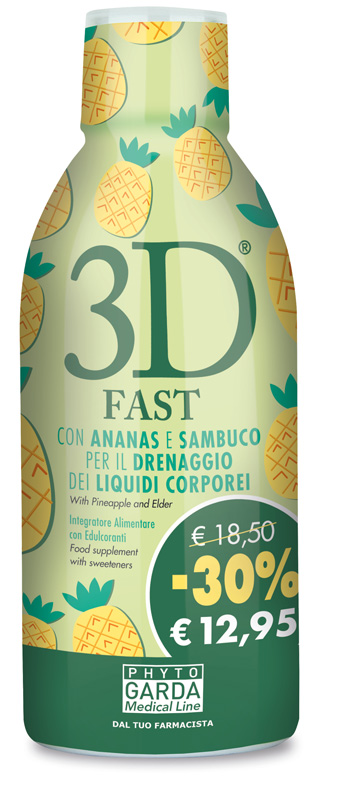 3D FAST 500 ML - Parafarmacia Tranchina