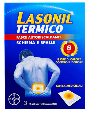 LASONIL TERMICO SCHIENA/SPALLE 3 FASCE AUTORISCALDANTI - Farmaciacarpediem.it