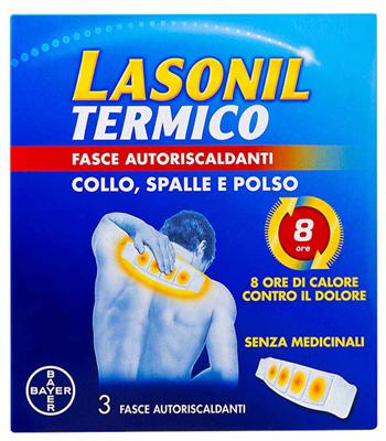 LASONIL TERMICO COLLO/SPALLE/POLSO 3 FASCE AUTORISCALDANTI - Farmacia Bartoli