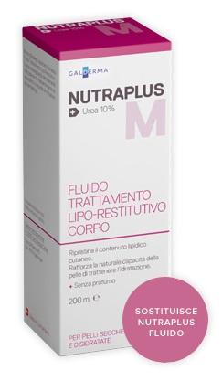 NUTRAPLUS MOISTURIZING FLUIDO UREA 200 ML - pharmaluna