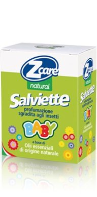 Z CARE NATURAL BABY SALVIETTE 10 PEZZI - Farmapage.it