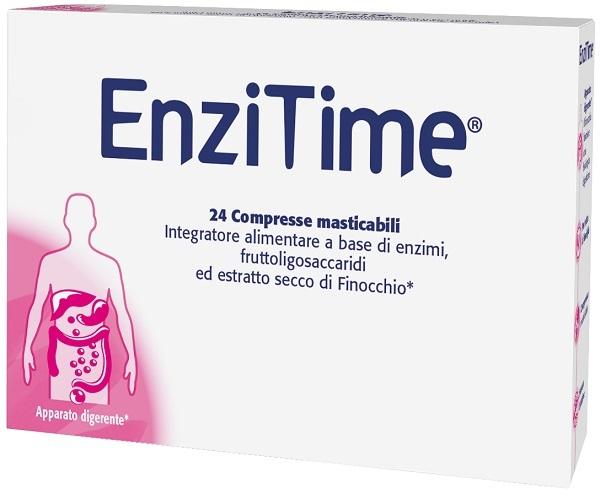ENZITIME 24 COMPRESSE MASTICABILI - Farmacia della salute 360