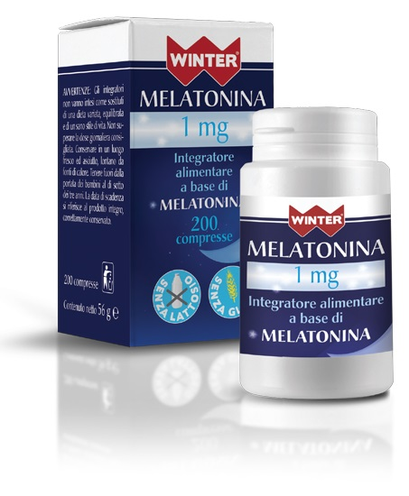 WINTER MELATONINA 1 MG 200 COMPRESSE - FARMAEMPORIO