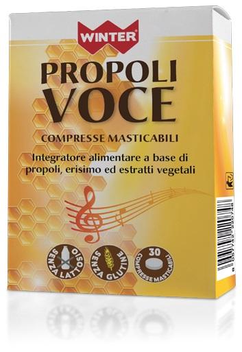 WINTER PROPOLI VOCE 30 COMPRESSE MASTICABILI - Farmacia Giotti