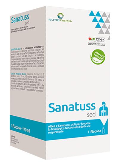 SANATUSS SED 200 ML - Farmacia Centrale Dr. Monteleone Adriano