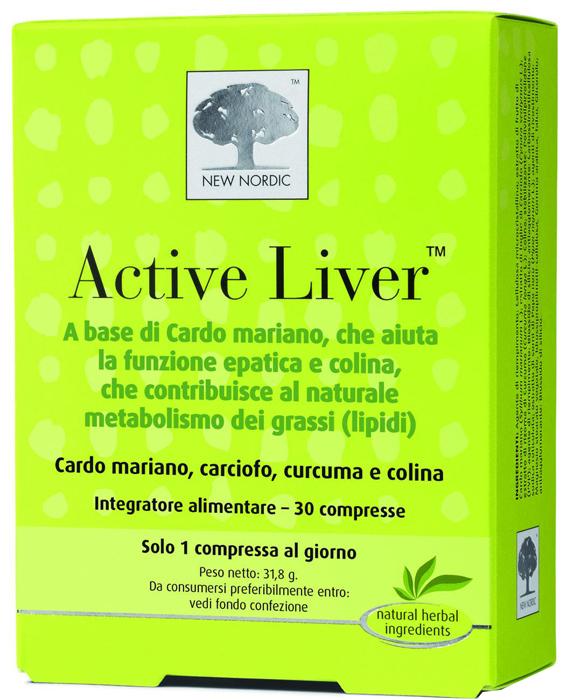 ACTIVE LIVER 30 COMPRESSE - Parafarmacia la Fattoria della Salute S.n.c. di Delfini Dott.ssa Giulia e Marra Dott.ssa Michela