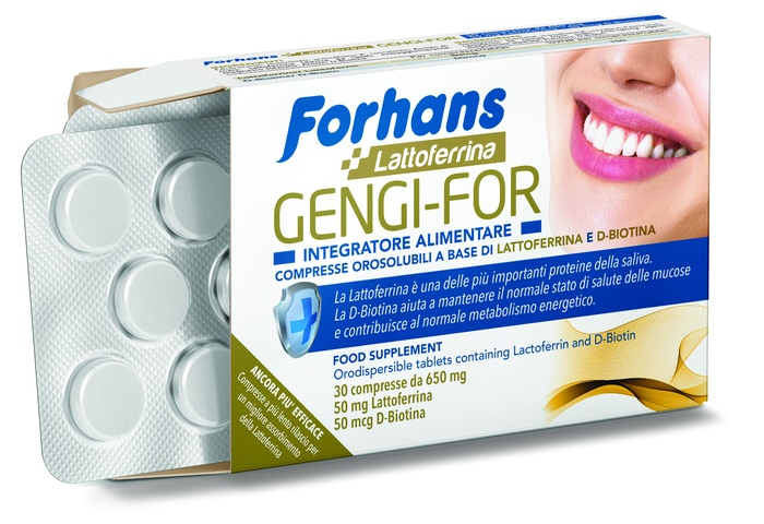 FORHANS GENGI FOR 30 COMPRESSE 19,50 G - Farmastar.it