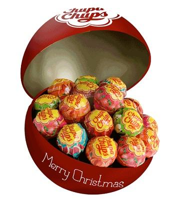 CHUPA CHUPS CHRISTMAS BALL 8 PEZZI - Farmaci.me