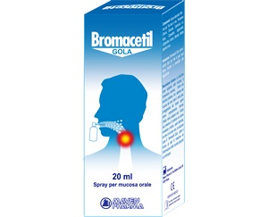 BROMACETIL GOLA SPRAY 20 ML - Carafarmacia.it
