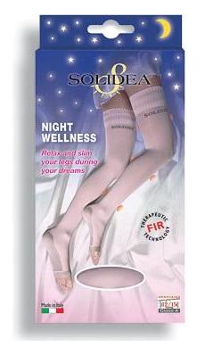 Solidea Night Wellness Calze Compressive Colore Rosa Taglia 1 S