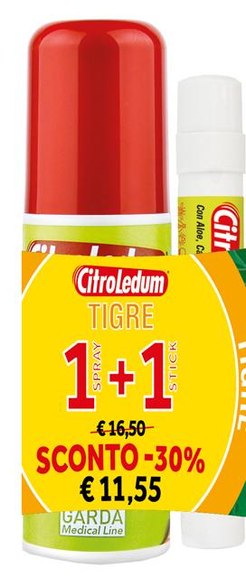 CITROLEDUM TIGRE KIT SPRAY 75 ML + STICK 10 ML - Farmaseller