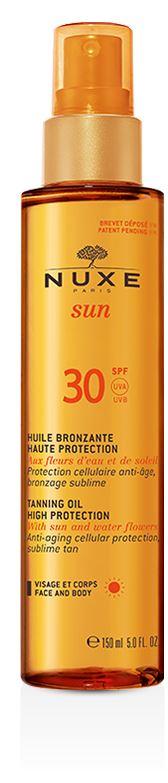 NUXE SUN HUILE BRONZANTE SPF 30 150 ML - Farmaedo.it