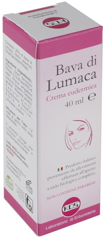 BAVA DI LUMACA CREMA EUDERMICA 40 ML - Farmaseller