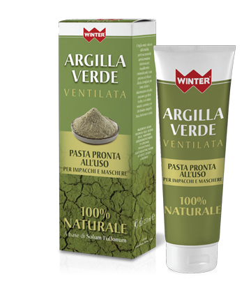 WINTER ARGILLA VERDE VENTILATA PRONTA ALL'USO 250 ML - Iltuobenessereonline.it