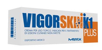 VIGORSKIN K1 PLUS CREMA PER LESIONI CUTANEE NON INFETTE 100 ML - Farmaseller