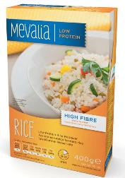 Mevalia Rice Pastina Aproteica Formato Riso 400g - Farmastop