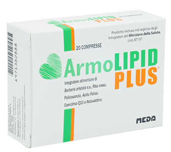 Image of Armolipid Plus 20 Compresse