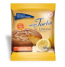 PIACERI MEDITERRANEI MINI TORTA LIMONE 50 G - FARMAPRIME