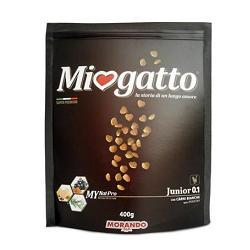 MIOGATTO JUNIOR 0,1 CARNI BIANCHE 400 G - Farmaciasconti.it