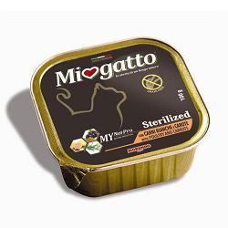 MIOGATTO STERIL CARNI BIANCHE/CAROTE GRAIN FREE 100 G - Farmaci.me