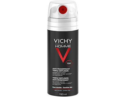VICHY HOMME DEO AEROSOL 72H 150 ML - Farmaunclick.it