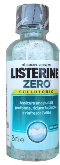 LISTERINE ZERO 95 ML - farmaciadeglispeziali.it