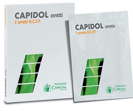 CEROTTO DERMICO CAPIDOL HIGH CONCENTRATION FROZEN PHOSPHOLIPO 5 CEROTTI - Farmabros.it