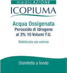 ICOPIUMA ACQUA OSSIGENATA DISINFETTANTE 250 ML - Farmafamily.it