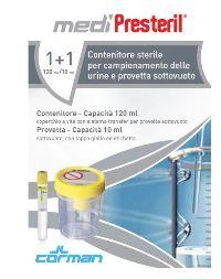 CONTENITORE URINA + PROVETTA MEDIPRESTERIL - Spacefarma.it