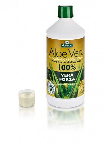 Optima Aloe Vera Succo Vera Forza Integratore Gastrointestinale 1 L