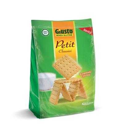 GIUSTO SENZA GLUTINE PETIT CLASSICI 250 G - Farmaciacarpediem.it