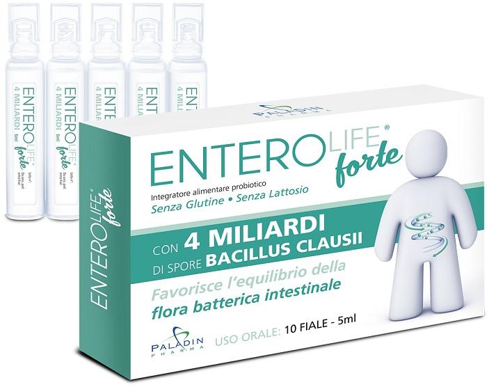 ENTEROLIFE FORTE 4 MILIARDI 10 FIALE DA 5 ML - Farmaseller