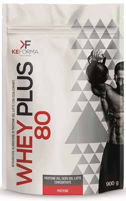 WHEY PLUS 80 BLACK CHOCOLATE BUSTA 900 G - Farmapage.it