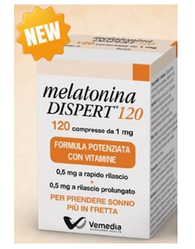 MELATONINA DISPERT 120 COMPRESSE - La farmacia digitale
