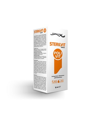 STERILVIT POLIVIT GOCCE 15 ML - FARMACIABORRELLI.IT