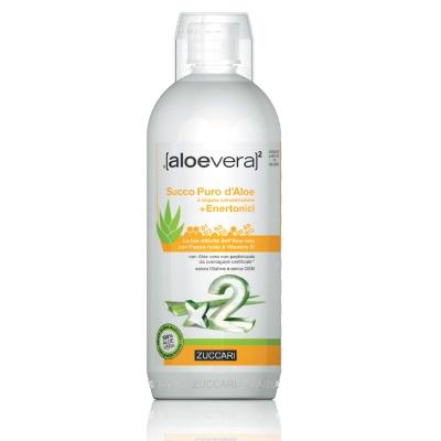Zuccari Aloevera x2 Succo Puro d'Aloe con Enertonici 1 litro - latuafarmaciaonline.it