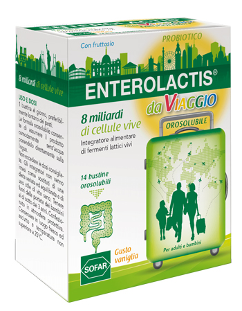 ENTEROLACTIS VIAGGIO 14 BUSTE - Farmajoy