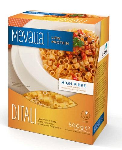 Mevalia Ditali Pasta Aproteica 500g - Farmastop