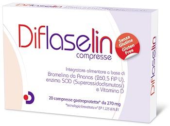 DIFLASELIN 20 COMPRESSE GASTROPROTETTE 270 MG - SUBITOINFARMA