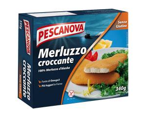 PESCANOVA MERLUZZO CROCCANTE PANATO SURGELATO 3 FILETTI 340 G - Farmacia Massaro