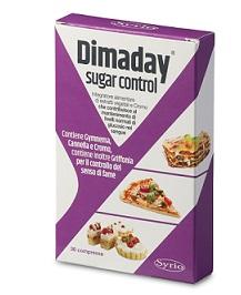Dimaday Sugar Control Integratore Controllo Glucosio 30 compresse
