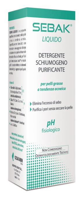 SEBAK LIQUIDO DETERGENTE 150 ML - Farmacia Centrale Dr. Monteleone Adriano
