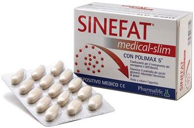 SINEFAT MEDICAL SLIM 60 COMPRESSE