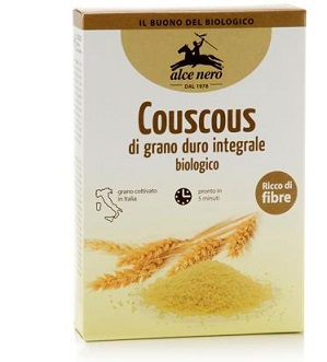 COUSCOUS GRANO DURO INTEGRALE 500 G - Farmajoy