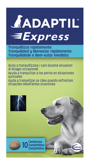 ADAPTIL EXPRESS 10 COMPRESSE - FARMAPRIME