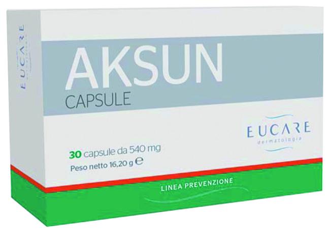 AKSUN INTEGRATORE SOLE 30 CAPSULE - Farmastar.it