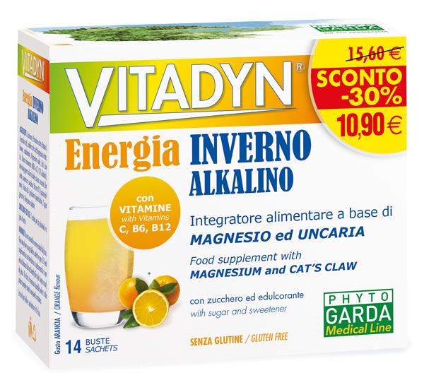 VITADYN ENERGIA INVERNO 14 BUSTE - Biofarmasalute.it