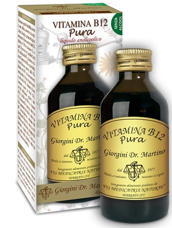 VITAMINA B12 PURA 100 ML LIQUIDO ANALCOOLICO - Farmafamily.it