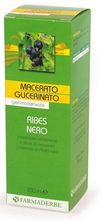 MACERATO GLICERICO RIBES NERO RIBES NIGRUM 100 ML - Farmacia Centrale Dr. Monteleone Adriano