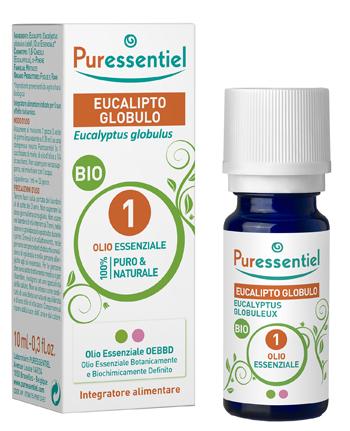 OLIO ESSENZIALE EUCALIPTO GLOBULO BIO 10 ML - Farmaciaempatica.it